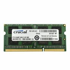 Memoria (RAM) de ordenador Crucial DIMM 204-pin PC3-12800 (DDR3-1600)