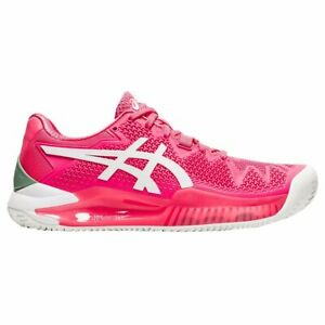 Asics Resolution 8 Clay Womens Tennis Shoes