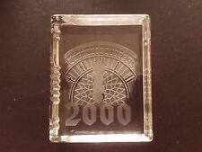 Stuart Crystal Millenium Book 2000 Commemorative Paperweight