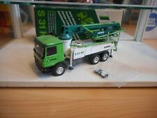 Conrad Beton Pump Schwing S 31 HT Mercedes Actros in Green/White on 1:50 in Box