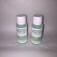 New 2 pc Lot Mario Badescu Cucumber Cleansing Lotion 1 oz