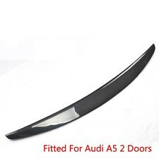Sports Grade Cabon Fiber Rear Trunk Spoiler Boot Lip Wing For Audi A5 2 Doors