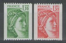 FRANCE:  n°2062/2063 ** (provenant de roulette)