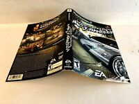 Need For Speed Most Wanted PS2 ARTWORK ONLY Authentic