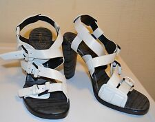 RRP £520!  3.1 Phillip Lim Strappy White High-Heel Sandal UK6/EU39
