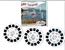 VIEW MASTER : LAKE LUCERNE (SWITZERLAND) - 3 disques/reels  C 134
