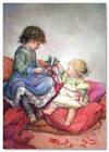 NEW! Little Cut Girl Baby Xmas Gift Modern Postcard ARTIST Lisi Martin