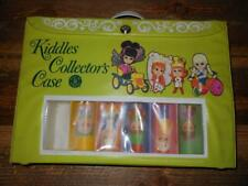 Vintage 1968 Green Liddle Kiddles Collector Case w/ Insert - Guc