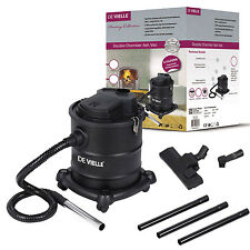 De Vielle Duo Ash Vac and Vaccum Cleaner 1200W, Dual Filter, 20 Litre
