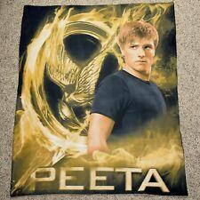 2012 NECA Hunger Games Peeta Fleece Throw Blanket