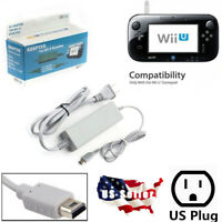 AC Adapter Charger Supply Cord For Nintendo Wii U WiiU Gamepad Remote Controller