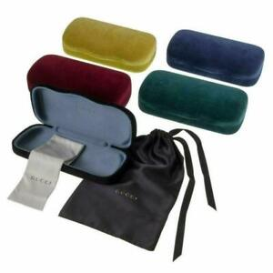 GUCCI  Eyeglasses Sunglasses Velvet Case with Dust Bag, Cloth, Certificate Card