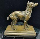 1860 Alfred Dubucand Miniature Bronze MANCHESTER TERRIER DOG Figurine Signed