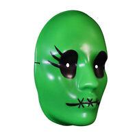Women's Tragedy Girl Sadie Cunningham Halloween Cosplay Costume Vacuform Mask