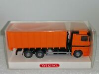 Wiking ( 672/3 )  MB Actros  Abrollkipper Meiler , OVP -- T@P