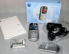 Motorola C140 Retro Silber Ohne Simlock Handy SIM Free GSM Mobile Phone Farb LCD