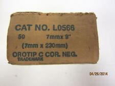 "National Negative Carbon Cinema Arc Rods  7mm x 9""  50pc"