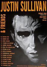 JUSTIN SULLIVAN / NEW MODEL ARMY TOUR POSTER / KONZERTPLAKAT