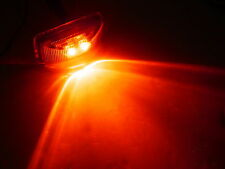 1.2 x 2.5 Red LED Snap in Trailer Marker Light Truck Camper Horse RV Rice