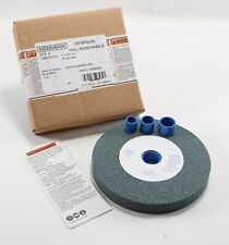 """New listing New - Nos 6"""" x 3/4"""" x 1"""" Crystolon Tool Grinding Room Wheel 4140 Rpm 60 Grit"""