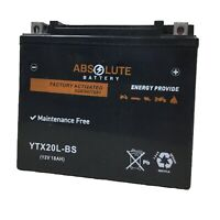 New GTX20LBS Sealed Maintenance Free Battery Replaces YUASA YTX20L-BS YTX20HL-BS