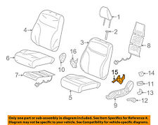HONDA OEM 2012 Civic Front Seat-Seat Cover-Outer Left 81637TA0A21ZE