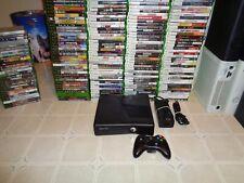 microsoft xbox 360 4gb console system w/6 games