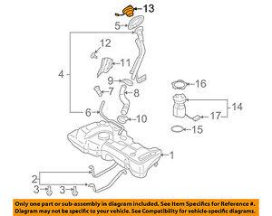 NISSAN OEM 03-06 Sentra 1.8L-L4 Fuel Tank Filler-Gas Cap 172518U60B