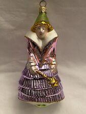 Kurt Adler Polonaise Komozja Glass Ornament Cinderella Fairy God Mother Princess