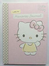 Sello Hello Kitty Libro registro de recuerdo bebé Primeros Años