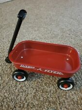 """Vintage 1998 Curious George Radio Flyer Red Wagon Mini 6"""" *Wagon Only*"""