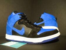 Nike Dunk High Pro SB JORDAN J-PACK BLACK GAME ROYAL BLUE WHITE 305050-018 7.5