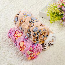 More details for pet dog cat puppy fleece blankets pet blanket