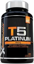 T5 Fat Burner 200 Capsules Thermogenic Fat Burner Slimming Weight Loss