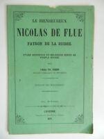 El Blissful Nicolas de Salida Humos Abbot Ch. Raemy Luzern, Hermanos Raeber 1871