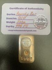 More details for 100g silver bar rios precious metals rpm anarchy bar