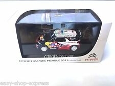 CITROËN DS3 WRC 1:43 NOREV RALLYE DU MEXIQUE 2011 DEALER MODEL VOITURE AMC019050