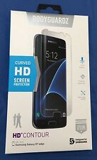 NEW BodyGuardz HD Contour Curved HD Screen Protection for Samsung Galaxy S7 Edge