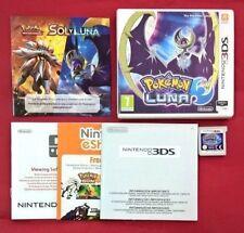 Pokémon Luna - Nintendo 3DS - USADO - MUY BUEN ESTADO