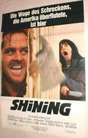 A1-Filmplakat  SHINING  JACK NICHOLSON,SCHELLEY DUVALL,STANLEY KUBRICK,HORROR
