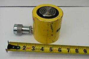 USED ENERPAC HYDRAULIC CYLINDER RCS201 20 TON
