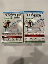 Nasopure Refill Kit With Salt Packs Lot Of 2