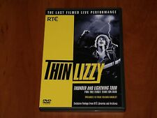THIN LIZZY DVD THUNDER AND LIGHTNING TOUR LIVE IN DUBLIN 1983 RARE CONCERT New