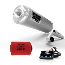 HMF Polaris RZR S 800 2011 - 2014 Titan QS Full Exhaust Muffler + EFI + UNI