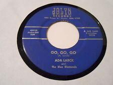"ROCKABILLY  ADA LARCK  ""GO,GO,GO  ""  VERY SCARCE 45 VINYL  JALYN 19270 DAYTON,OH"