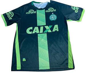 Chapecoense Soccer Jersey 2016 playera futbol Brazil Brasil camisa Small Caixa