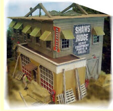 """Shaw'S Ridge Equip & Supply Laser-Cut Kit By Bar Mills- Ho-Scale 4"""" x 8"""""""