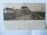 Ansichtskarte Altes Lager Jüterbog Die Laue Strasse 1917 Feldpost