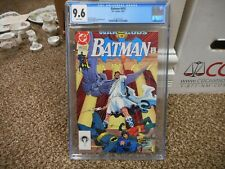 Batman 470 cgc 9.6 DC 1991 War of the Gods part 15 Norm Breyfogle cover WHITE pg