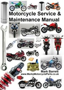 Motorcycle Service & Maintenance Manual Honda CB CBR Fireblade VTR VFR Hornet